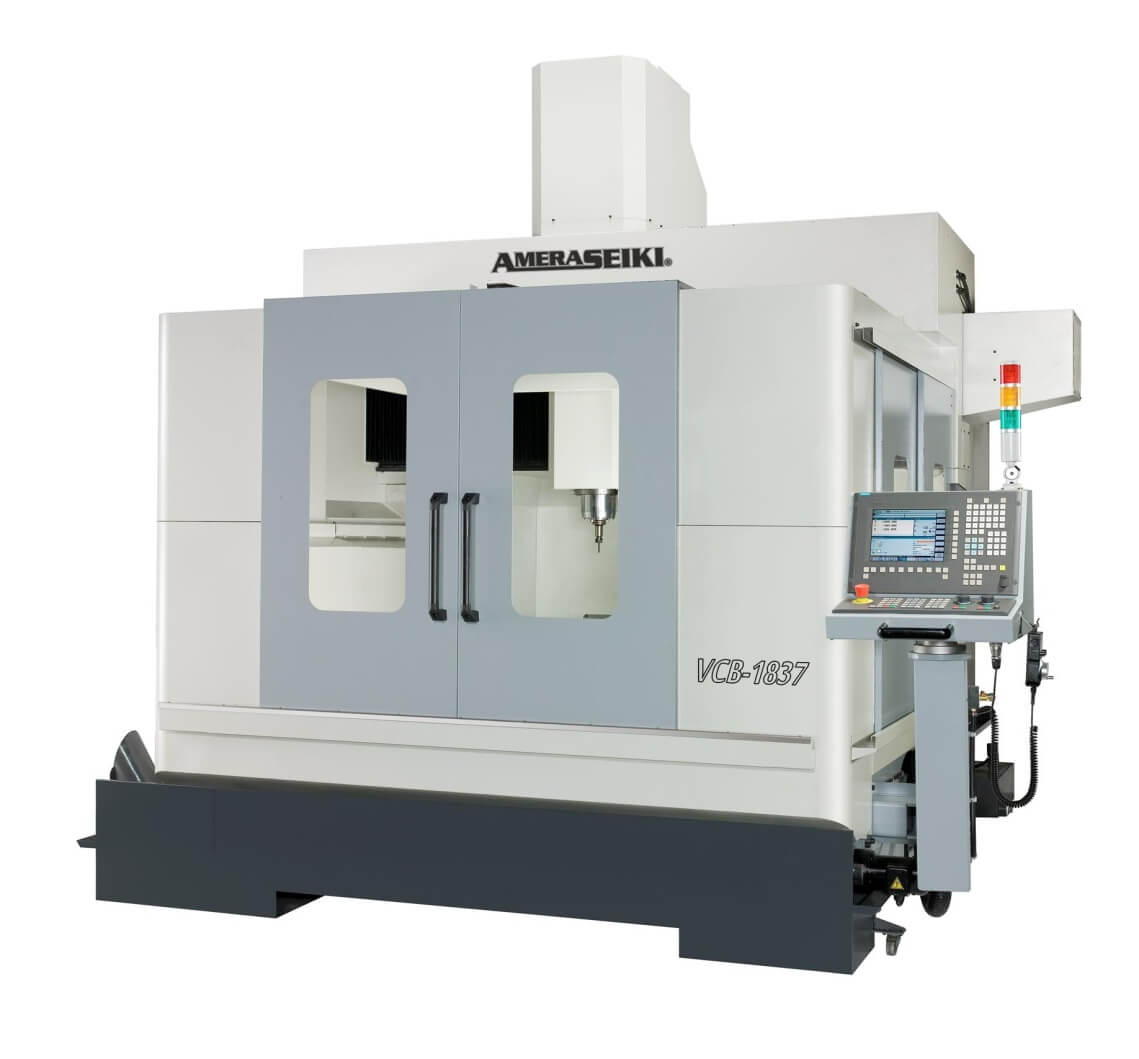 closed bridge-style high speed vertical machining centers