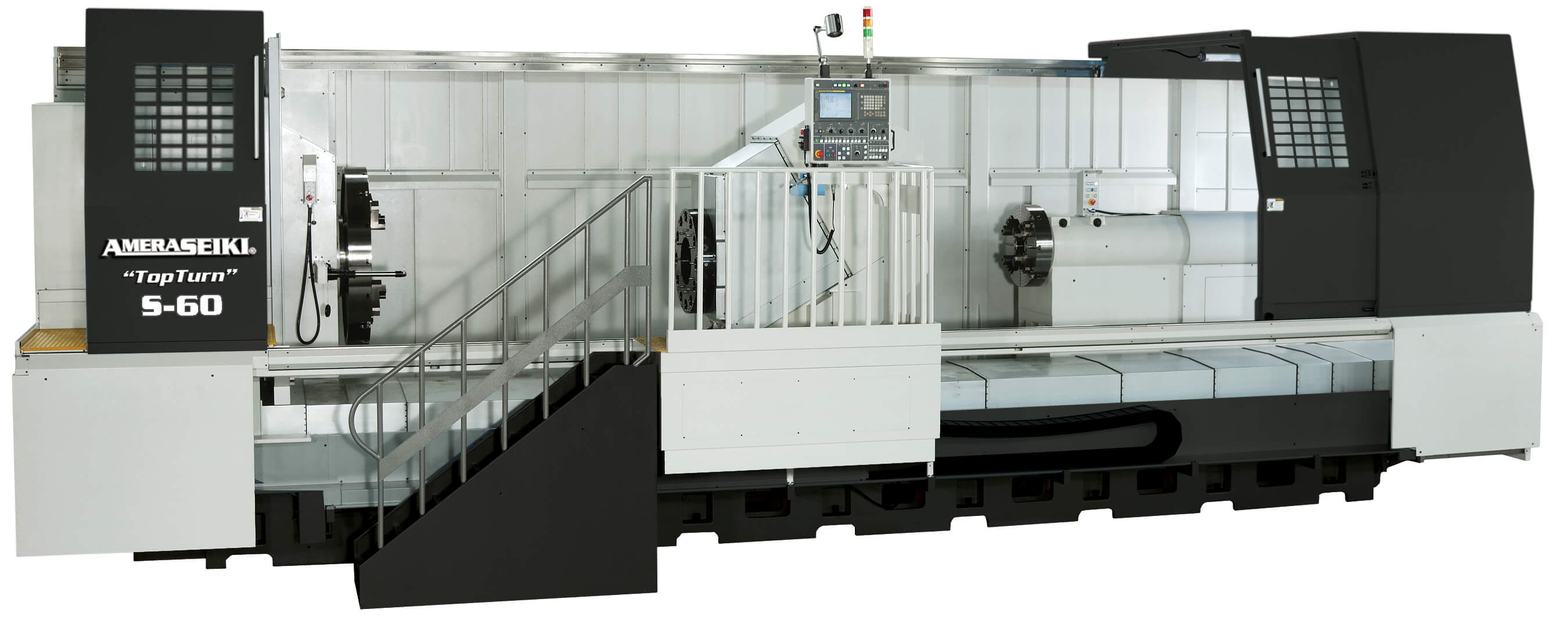 CNC Lathes Flat Bed Model