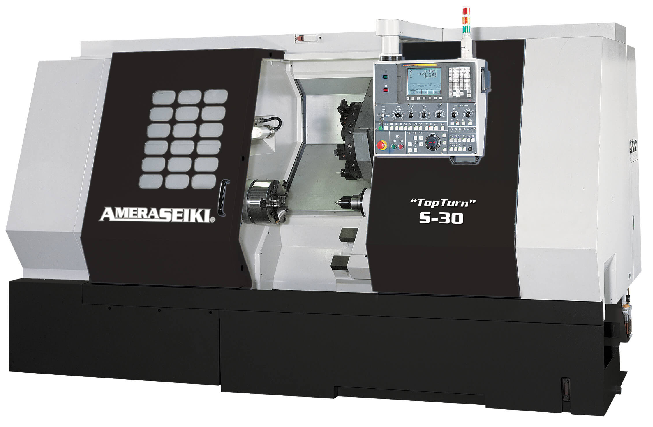 Amera-Seiki Top Turn Series CNC Turning Centers