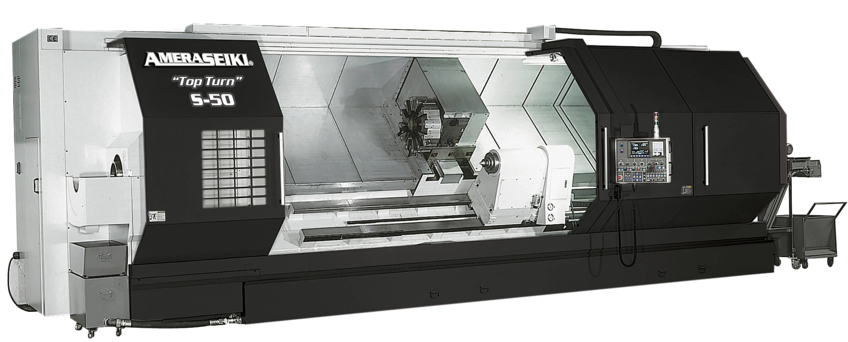 CNC Lathes Slant Bed Model